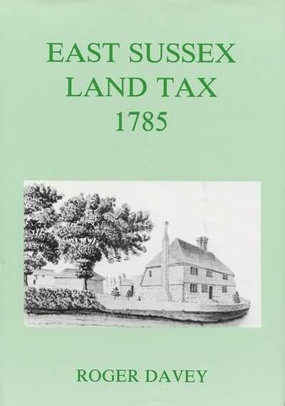 East Sussex Land Tax 1785 Book Cover